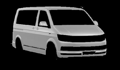 Цвета кузова Multivan